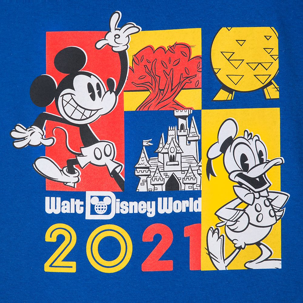 Mickey Mouse and Donald Duck T-Shirt for Toddlers – Walt Disney World 2021