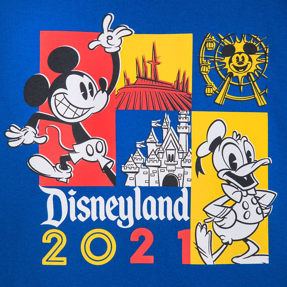 Mickey Mouse and Donald Duck T-Shirt for Toddlers – Disneyland 2021