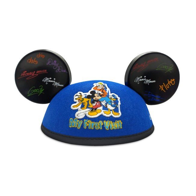 Mickey Mouse and Friends ''My First Visit'' Ear Hat for Kids – Disneyland