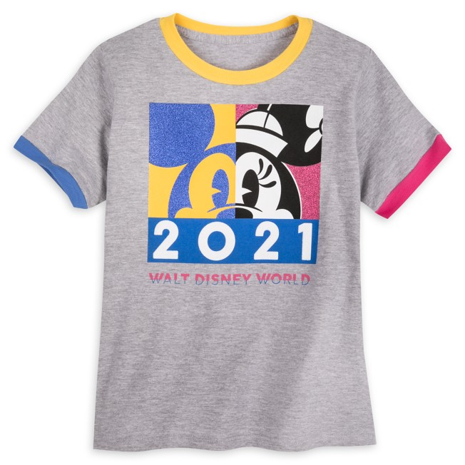 Minnie Mouse Ringer T-Shirt for Girls – Walt Disney World 2021