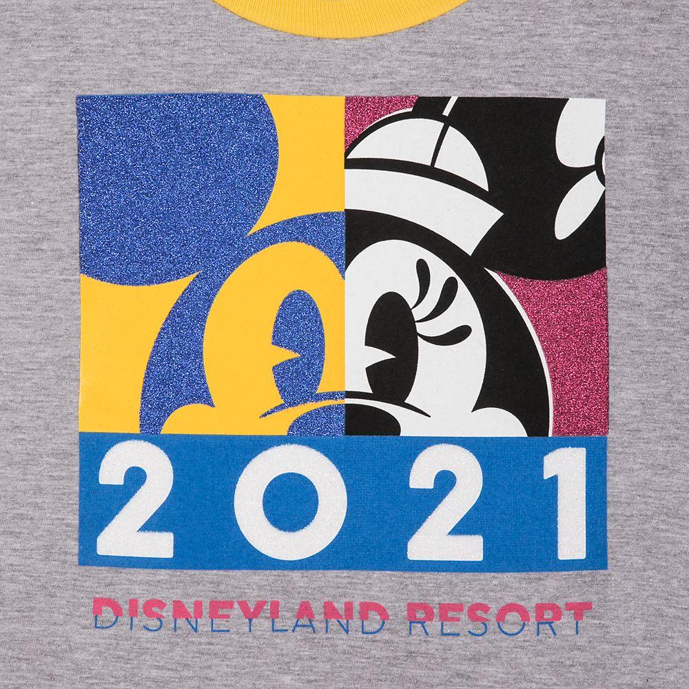 Minnie Mouse Ringer T-Shirt for Girls – Disneyland 2021
