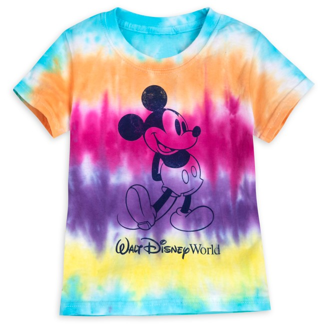 Mickey Mouse Tie-Dye T-Shirt for Toddlers – Walt Disney World