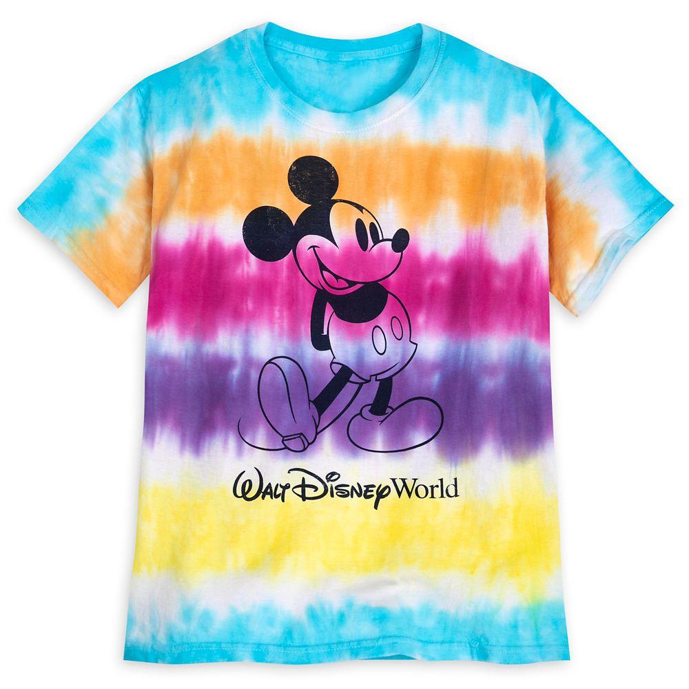 Mickey Mouse Tie-Dye T-Shirt for Kids – Walt Disney World