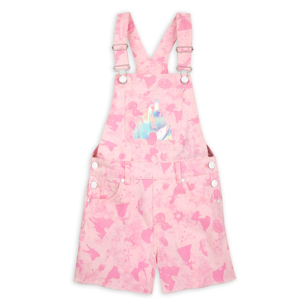 Disney Princess Overall Shorts for Girls