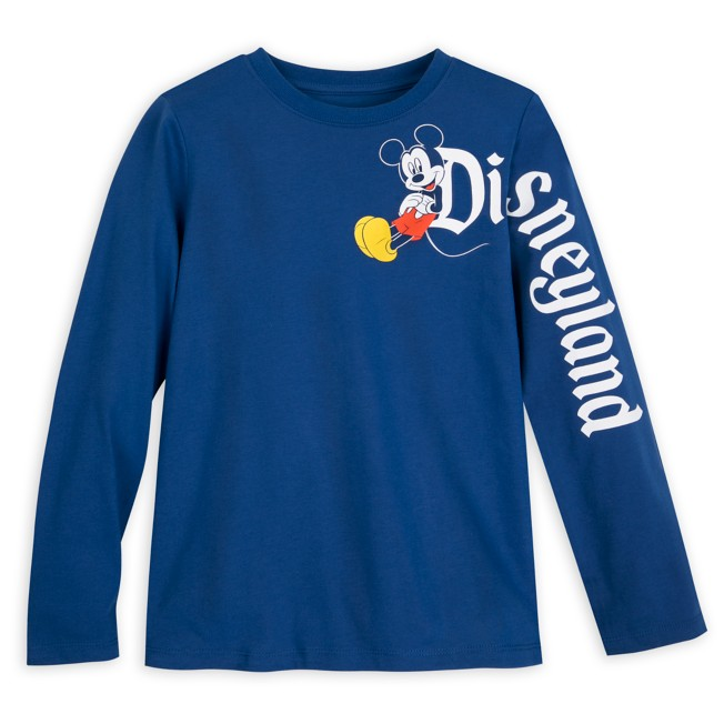 Mickey Mouse Long Sleeve T-Shirt for Kids – Disneyland