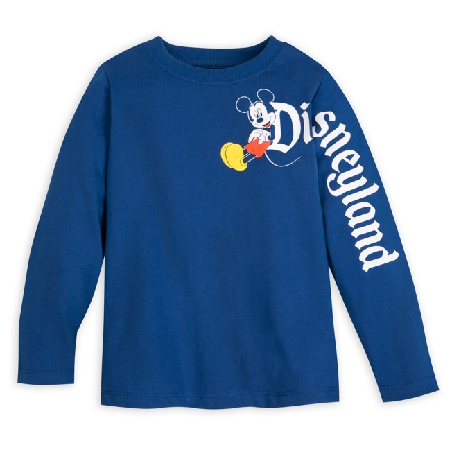 Mickey Mouse Long Sleeve T-Shirt for Toddlers – Disneyland