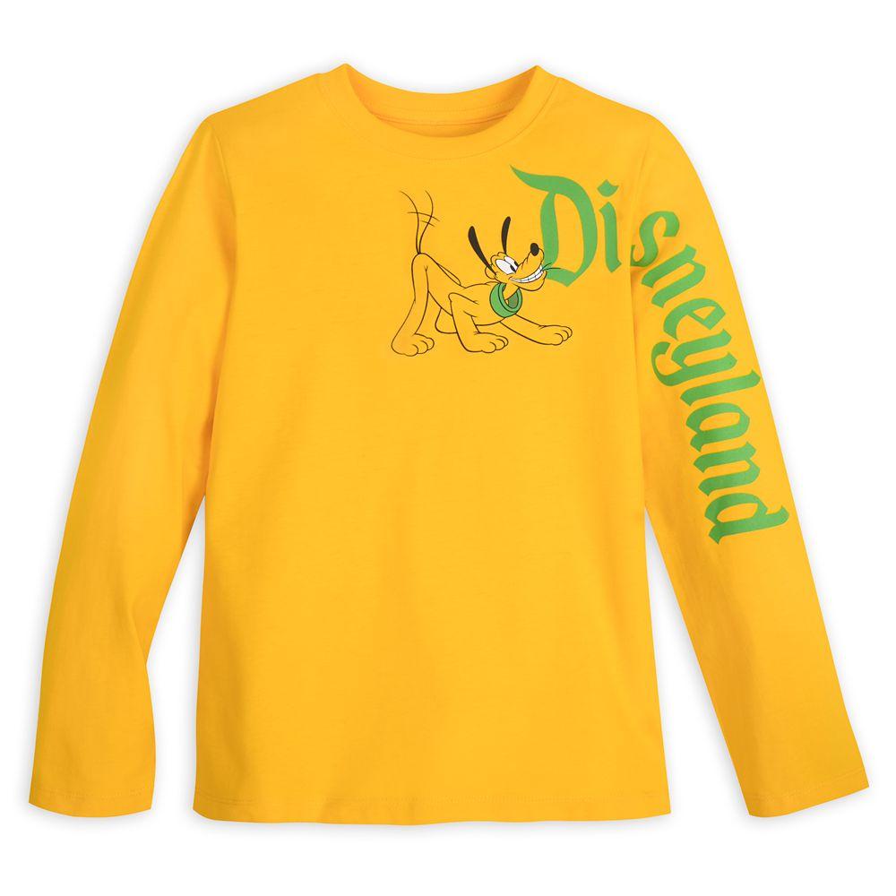 Pluto Long Sleeve T-Shirt for Kids – Disneyland