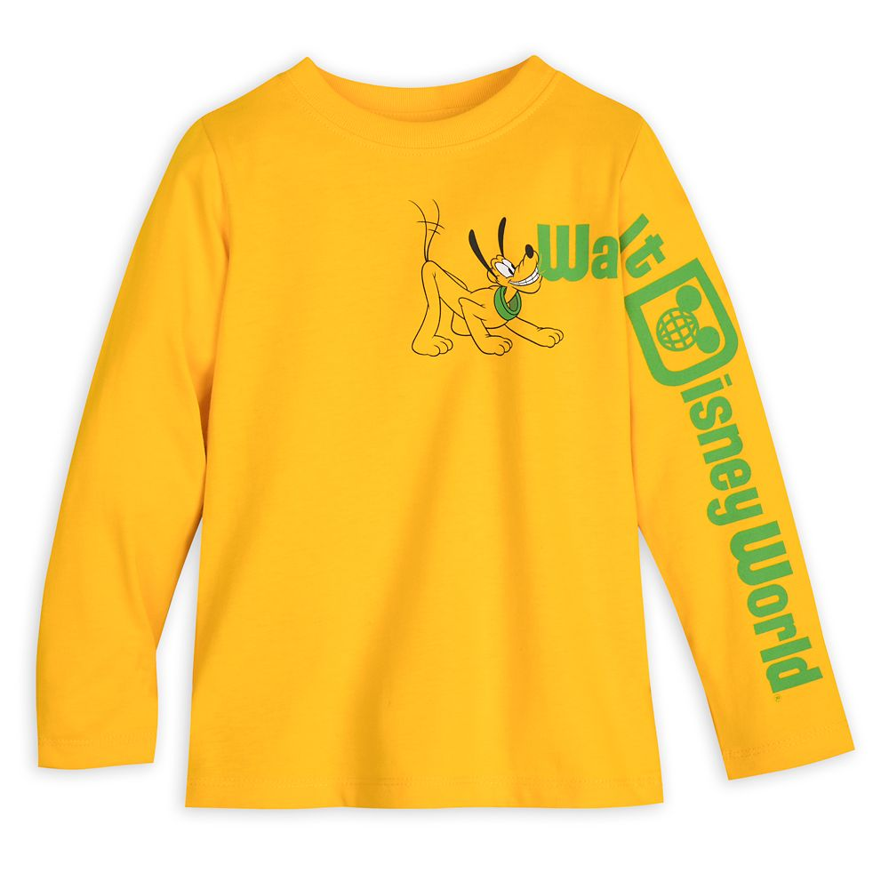 Pluto Long Sleeve T-Shirt for Toddlers – Walt Disney World