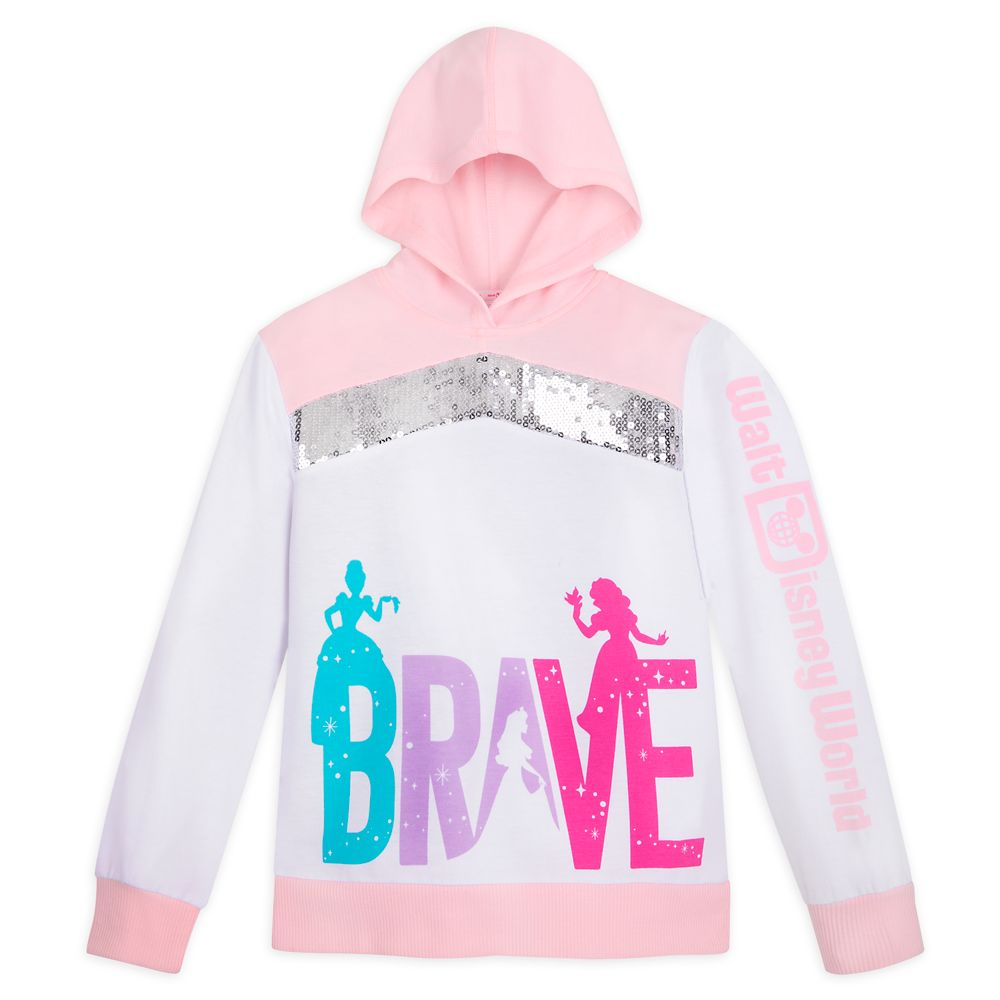 Disney Princess Pullover Hoodie for Girls ? Walt Disney World