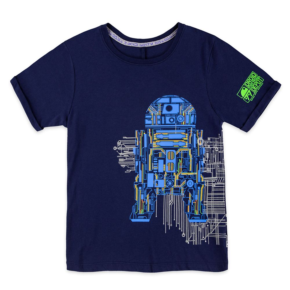 Droid Depot Circuitry T-Shirt for Kids – Star Wars: Galaxy's Edge