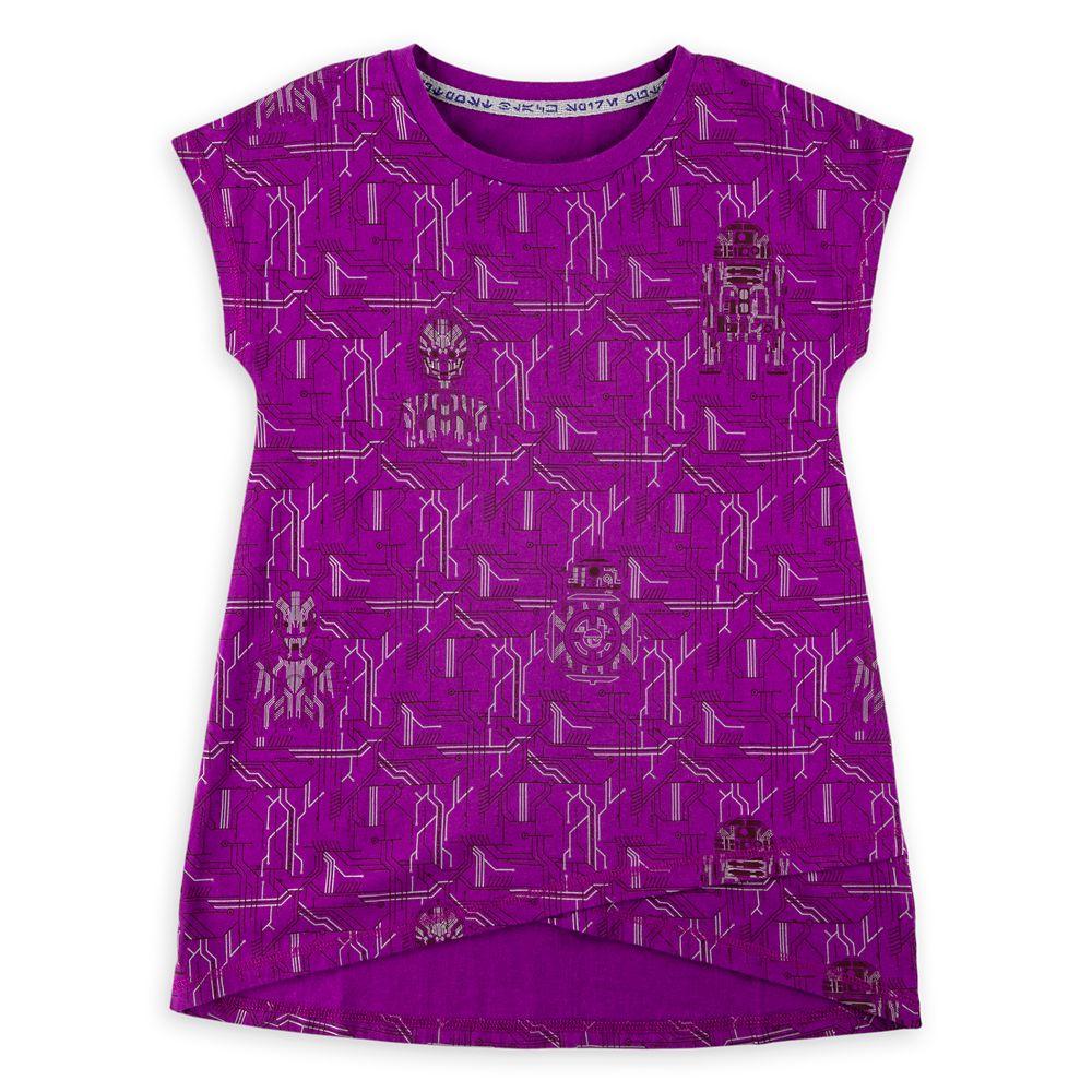 Droid Circuitry Fashion T-Shirt for Girls – Star Wars: Galaxy's Edge