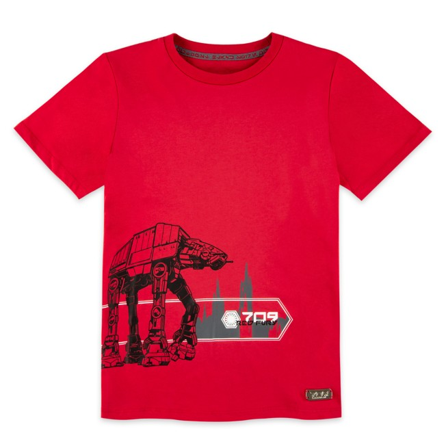 First Order ''709 Red Fury'' T-Shirt for Kids – Star Wars: Galaxy's Edge