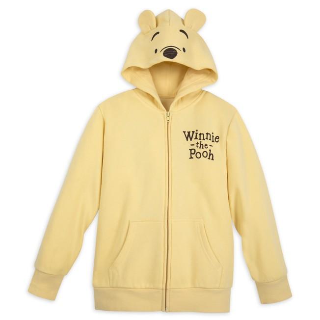 Winnie the Pooh Classic Costume Zip Hoodie for Kids