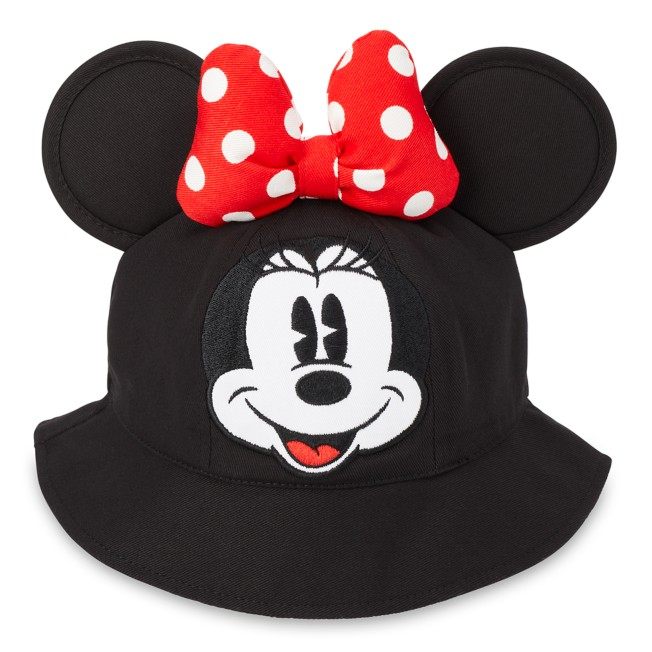 Minnie Mouse Bucket Ear Hat with Bow for Toddlers