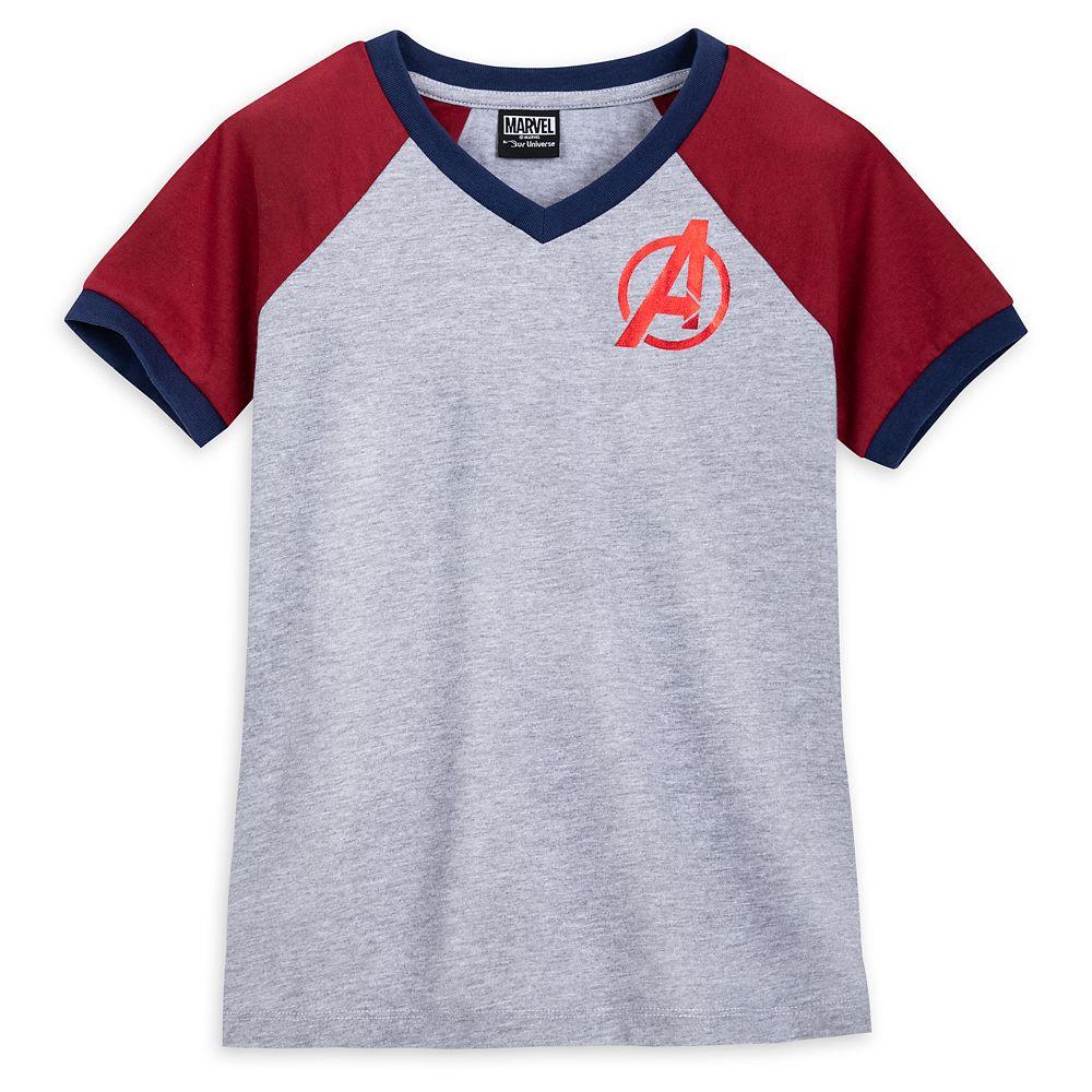 Avengers Soccer T-Shirt for Girls by Her Universe