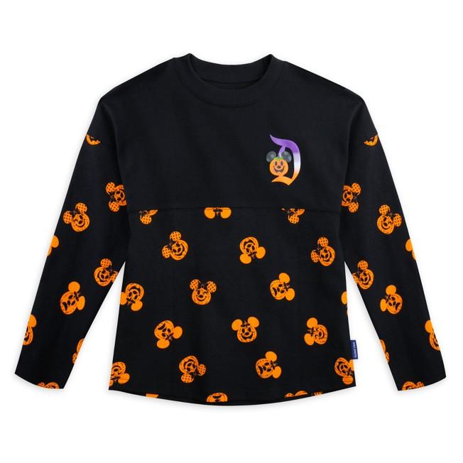 Mickey and Minnie Mouse Pumpkin Spirit Jersey for Kids – Disneyland