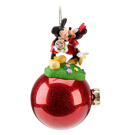 Celebration Minnie and Mickey Mouse Ornament
