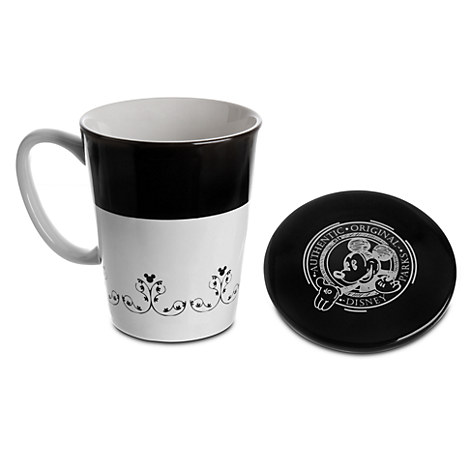 Gourmet Mickey Mouse Mug with Lid