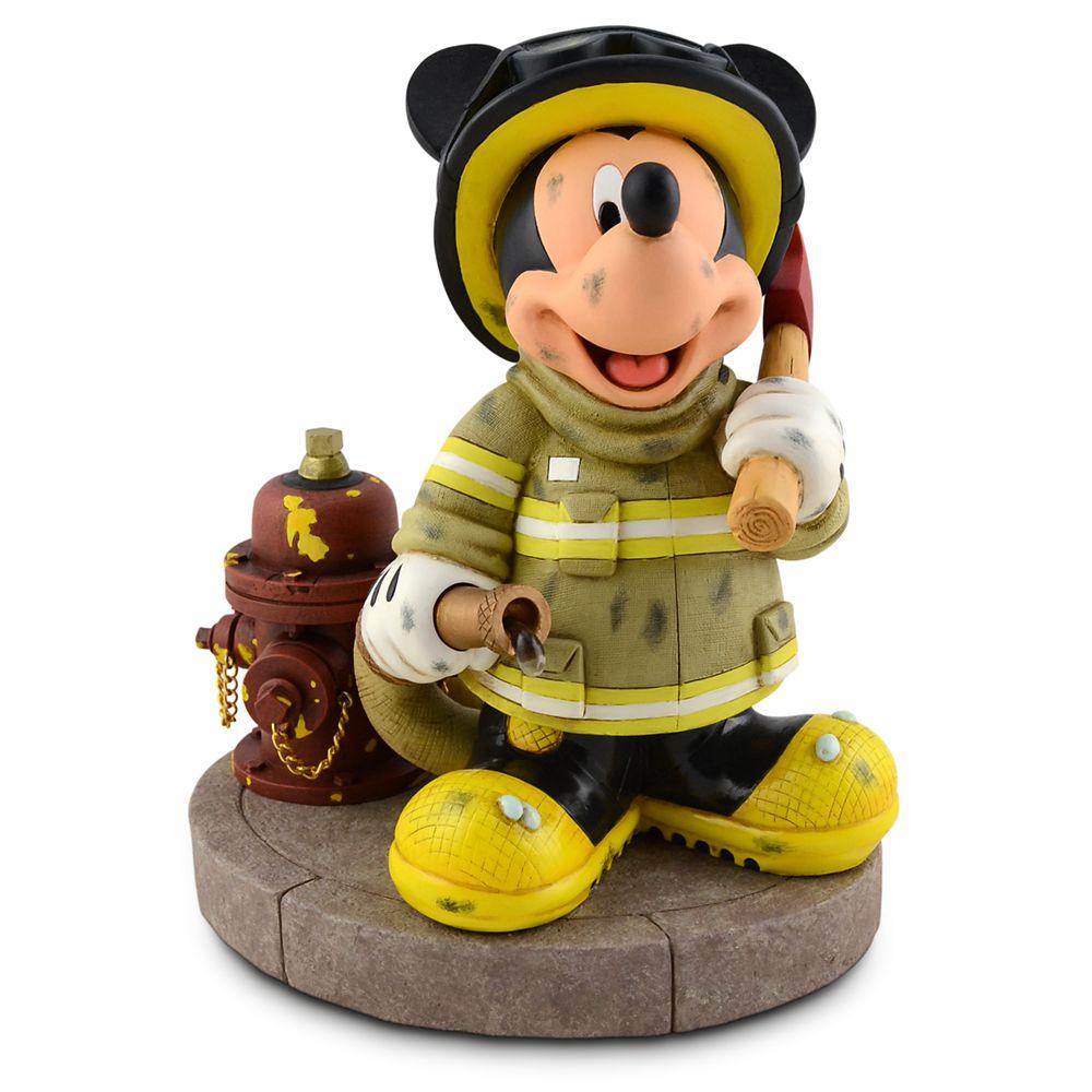 Fireman Mickey Mouse Figure