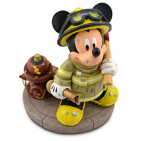 Fireman Mickey Mouse Figure