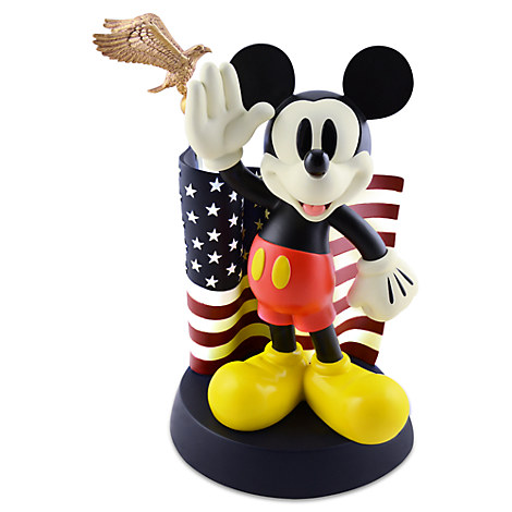 Flag Mickey Mouse Figure