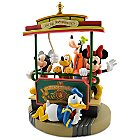 Main Street Trolley Mickey Mouse and Friends Figure