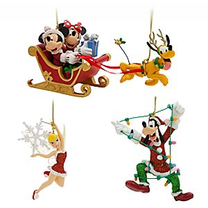 Mickey Mouse and Friends Ornament Set – Holiday