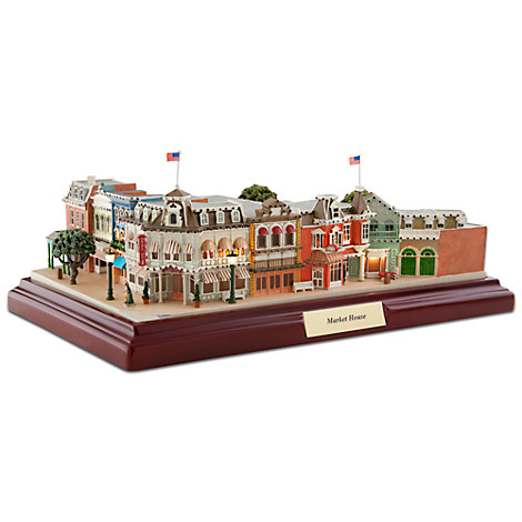 Walt Disney World Market House Miniature by Olszewski