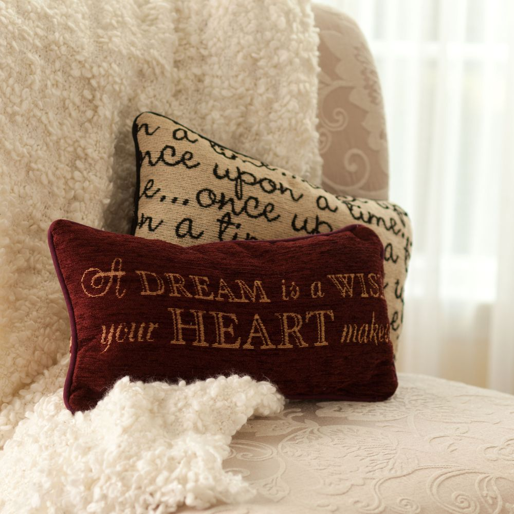Cinderella Pillow – ''A Dream is a Wish Your Heart Makes''