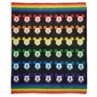 Mickey Mouse Throw Blanket – Rainbow Disney Collection