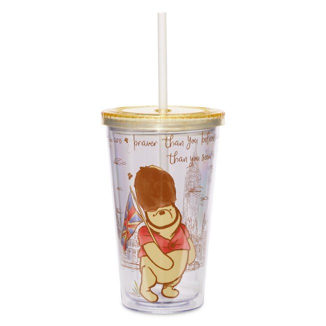 Winnie the Pooh Classic Tumbler with Straw