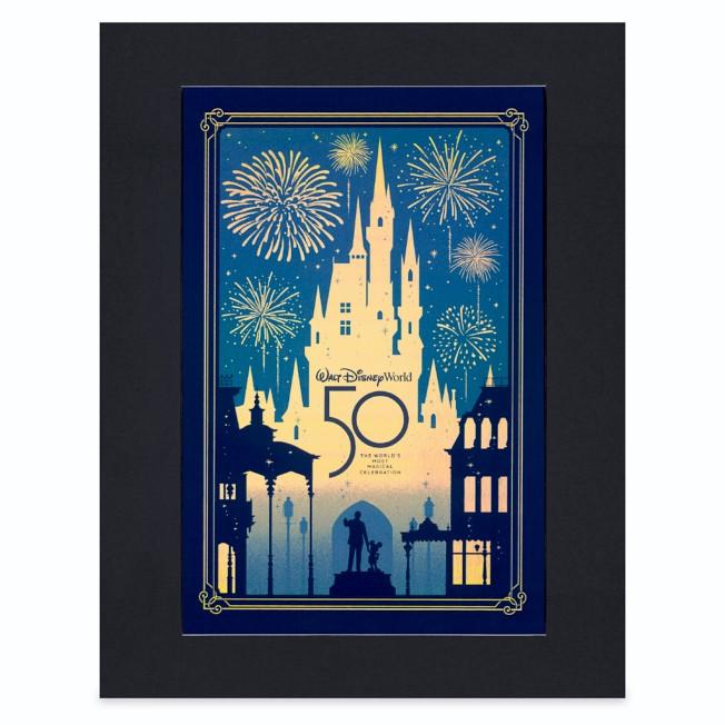Walt Disney World 50th Anniversary Countdown Poster