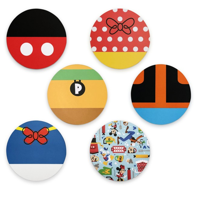 Mickey Mouse and Friends Coaster Set – Mousewares