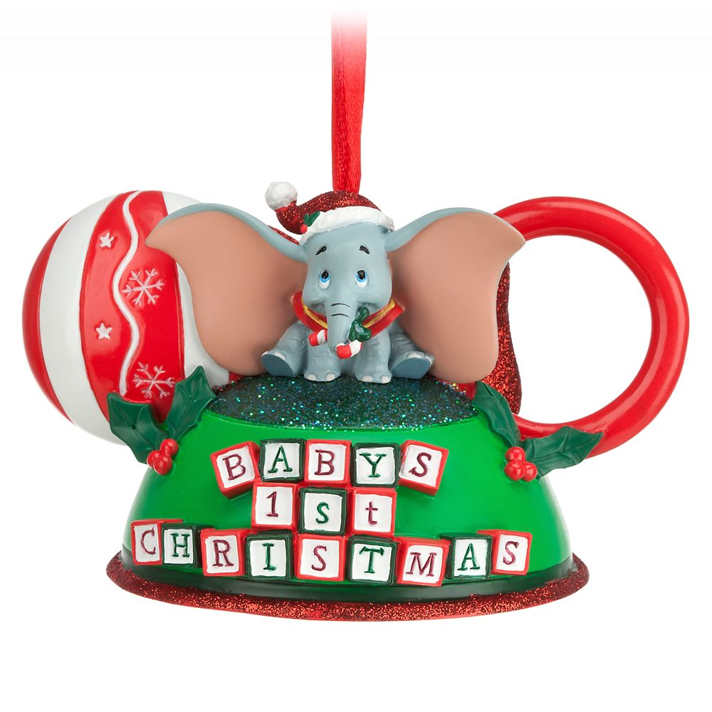Dumbo  Baby's First Christmas Ear Hat Ornament Official shopDisney