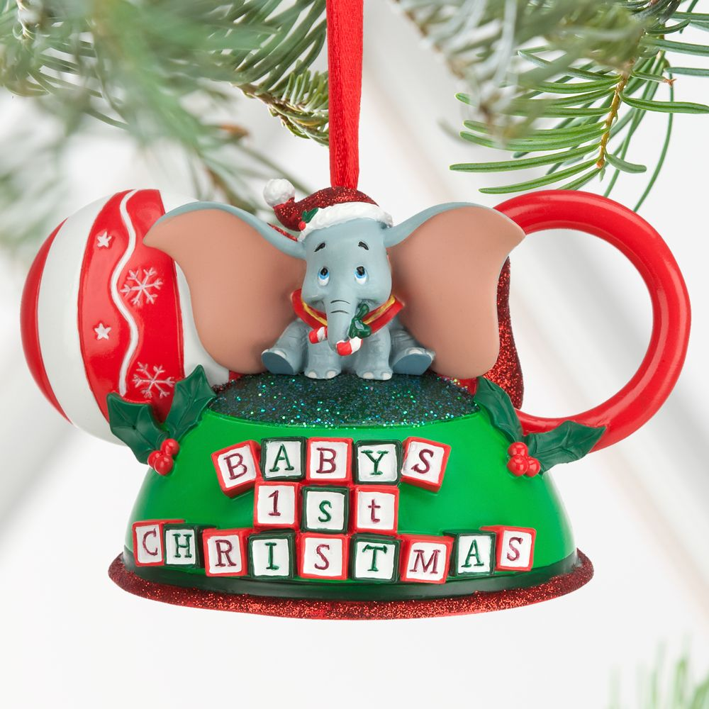 ... Dumbo – Baby's First Christmas Ear Hat Ornament ...
