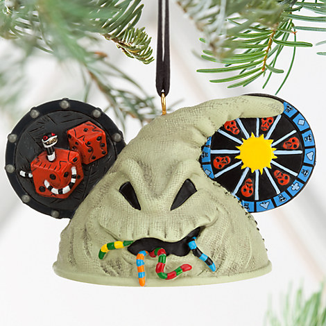 Oogie Boogie Ear Hat Ornament - Tim Burton's The Nightmare Before Christmas