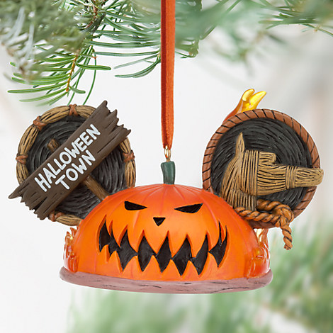 Pumpkin King Ear Hat Ornament - Tim Burton's The Nightmare Before Christmas