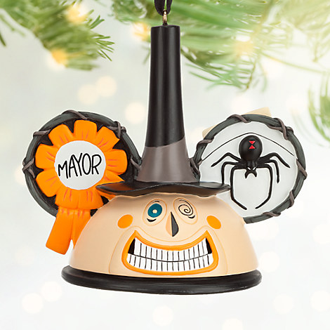 Mayor Ear Hat Ornament - Tim Burton's The Nightmare Before Christmas