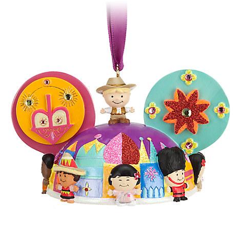 ''it's a small world'' Ear Hat Ornament
