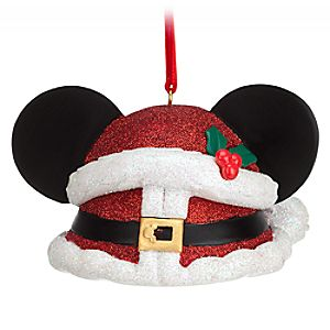 Mickey Mouse Ear Hat Ornament – Christmas
