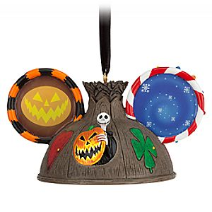 Tim Burton's The Nightmare Before Christmas Ear Hat Ornament 7509055880117P
