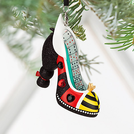 Queen of Hearts Shoe Ornament