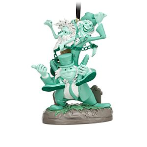 Hitchhiking Ghosts Ornament - The Haunted Mansion