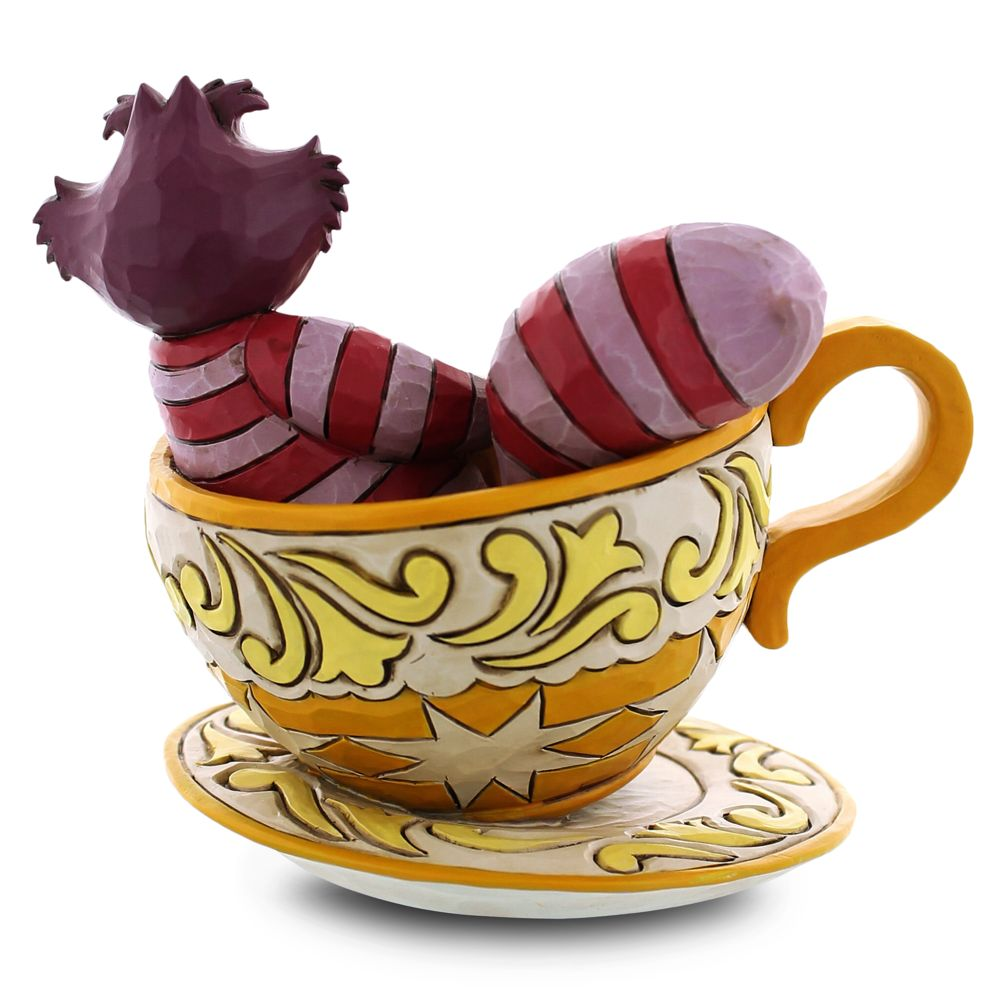 Cheshire Cat in Tea Cup Figure by Jim Shore