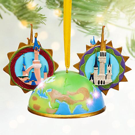 Disney Parks Light-Up Ear Hat Ornament