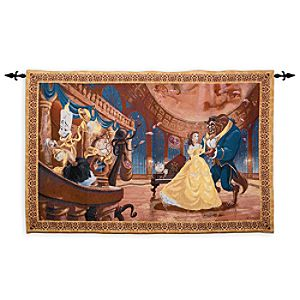 Beauty and the Beast Tapestry Wall Hanging