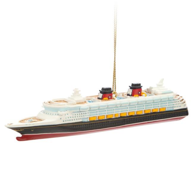 Disney Wonder Ornament – Disney Cruise Line