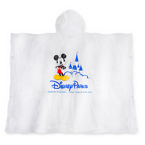 Mickey Mouse Disney Parks Poncho for Kids