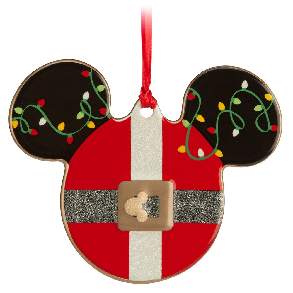 Mickey Icon Ornament – Santa