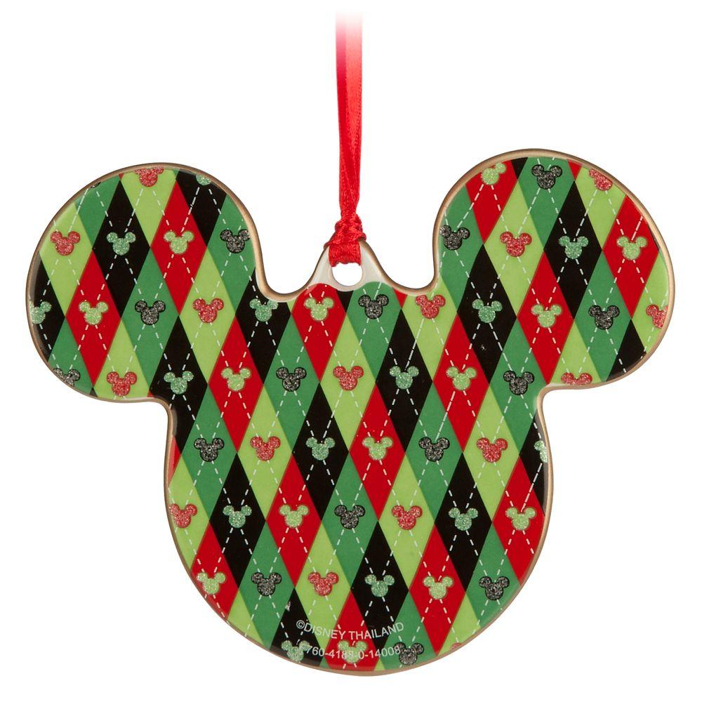 Mickey Icon Ornament – Santa